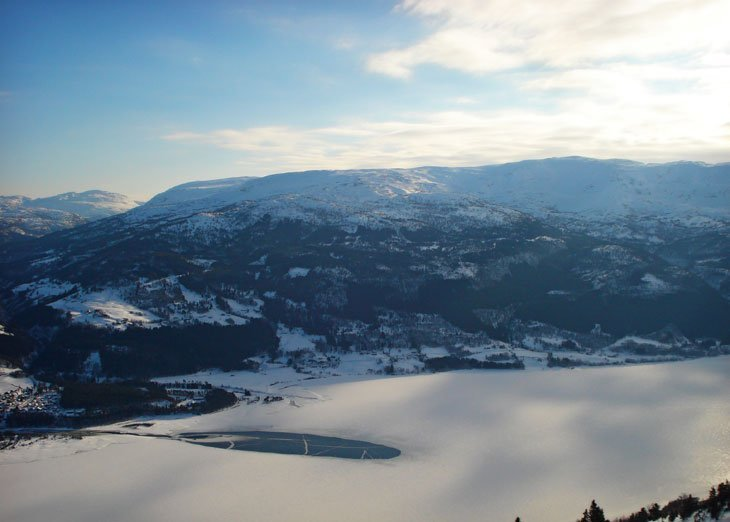 Norway – Skiing above Voss and Bergen Sights