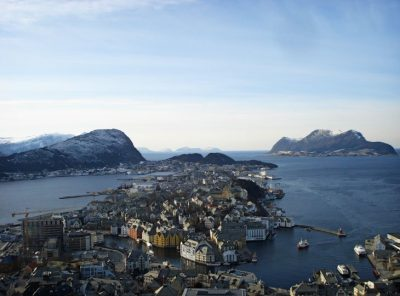 Norway - Ålesund, Up the Coast and out to Sea