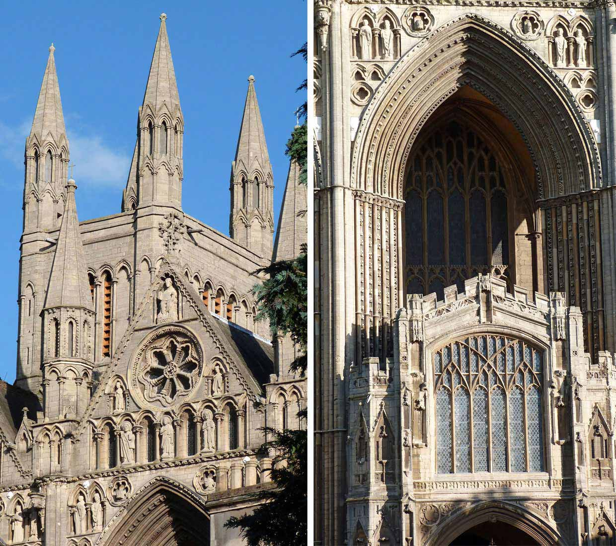 1-6 Peterborough Cathedral – around and within