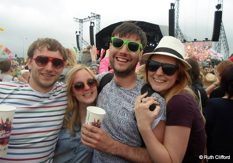 A decade at Glastonbury