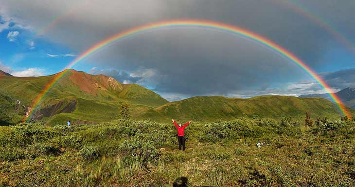 1024px Double alaskan rainbow Rainbow Planet: Full Spectrum Photography