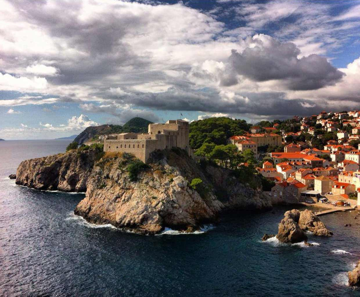 Dubrovnik's Old Town game of thrones