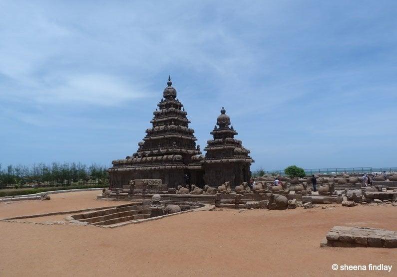 14.-Shore-Temple India – The Stone carvings of Mamallapuram