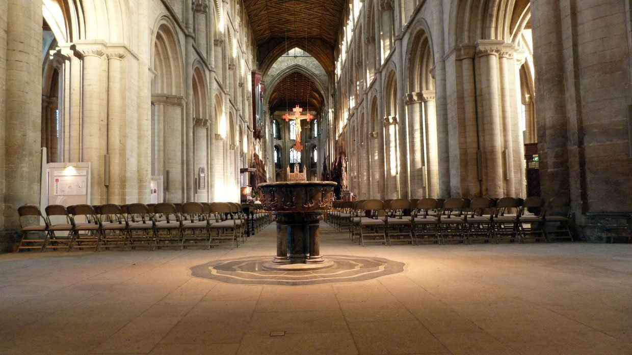 14.-The-Nave1 Peterborough Cathedral – around and within