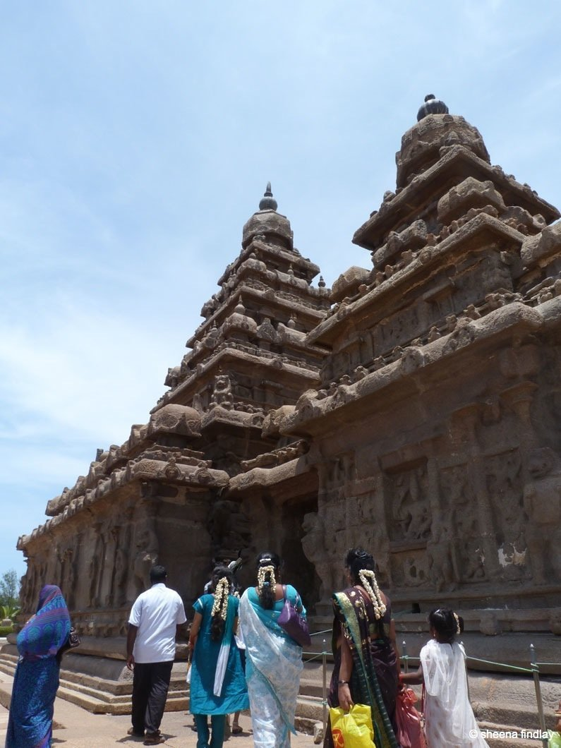 close up of shore temple