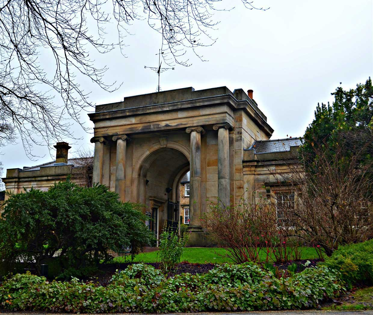 17. Botanic Gardens Entrance- sheffield