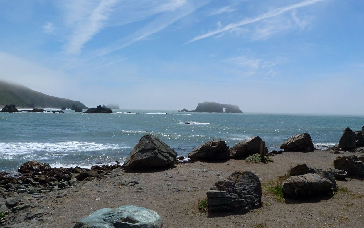 2.-Goat-Rock-Beach-looking-South Harbor Seals at Goat Rock Beach, Sonoma County