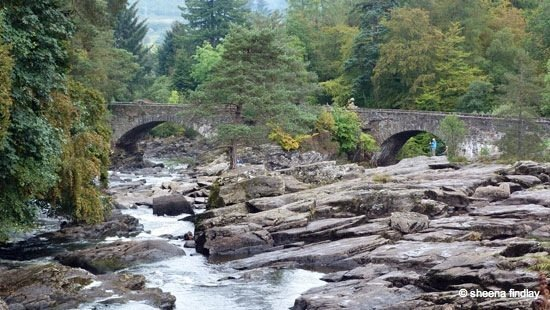 2.-The-Falls-of-Dockhart-2-The-Rob-Roy-Way-Sept-2014 Rob Roy's Way – Part 2