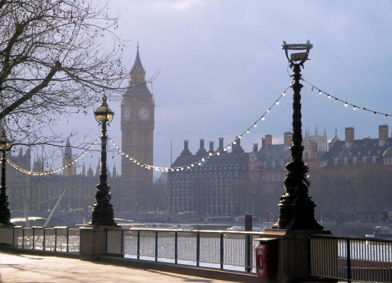 Winter On London's South Bank