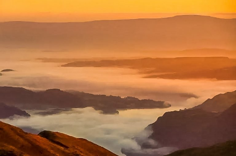 Helvellyn – A Dramatic Sunrise Over The Lake District
