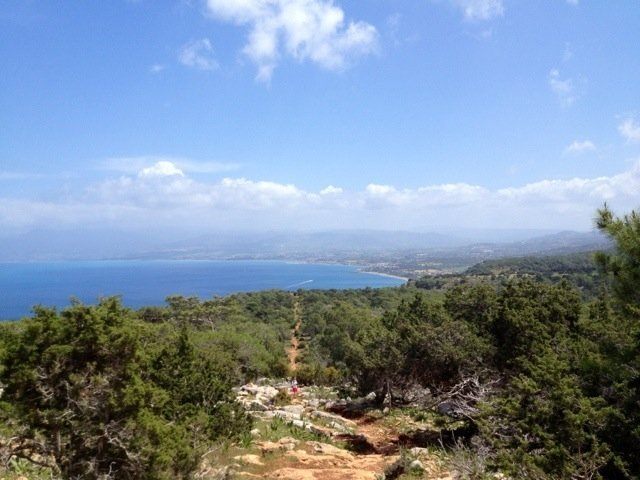 Tis wonderful – Aphrodite Nature Trail *waves* #VisitCyprus