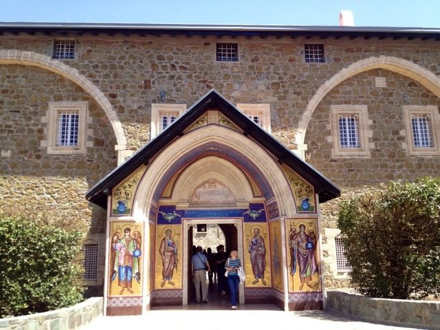 Wandering round the Kykkos Monastery (no photos inside)