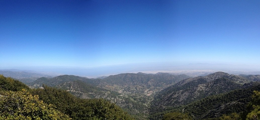 Hello from high in the Troodos Mountains.. Just resting on a rock for a Wow moment :)