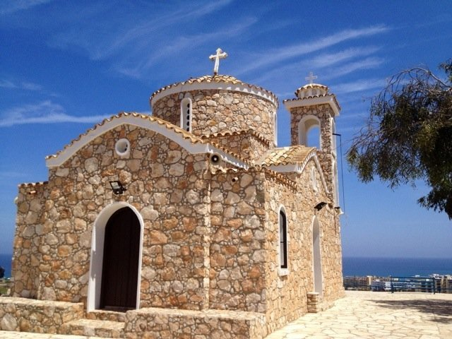 Good afternoon from Profitis Ilias Church #Cyprus