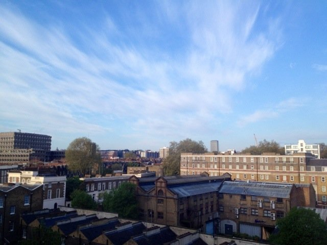 Good morning from a bright start.. London today :)