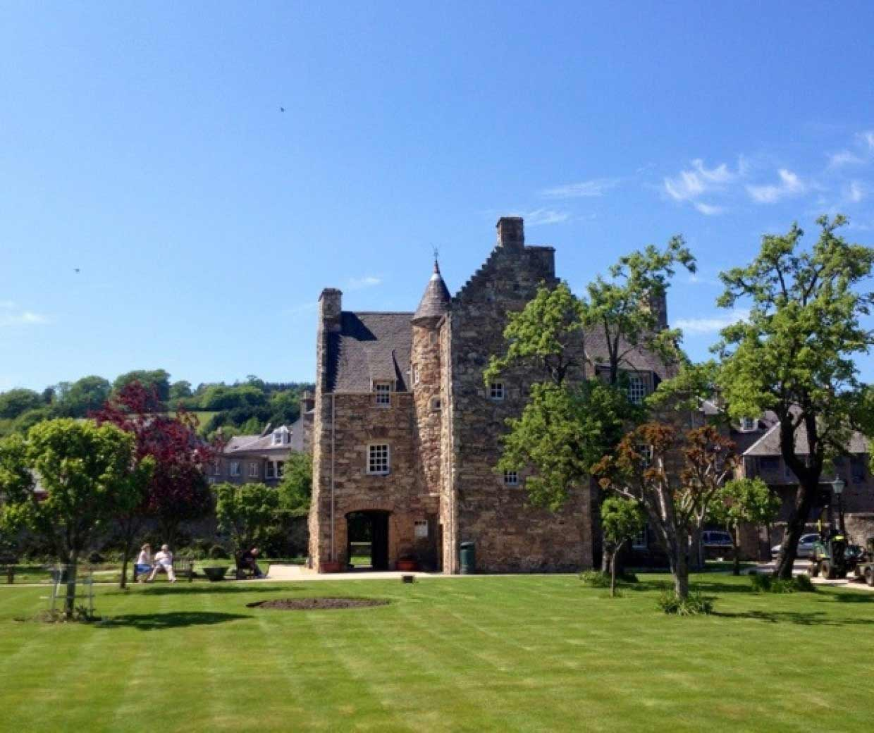 Time for a chill by the Jedburgh home of Mary Queen of Scots