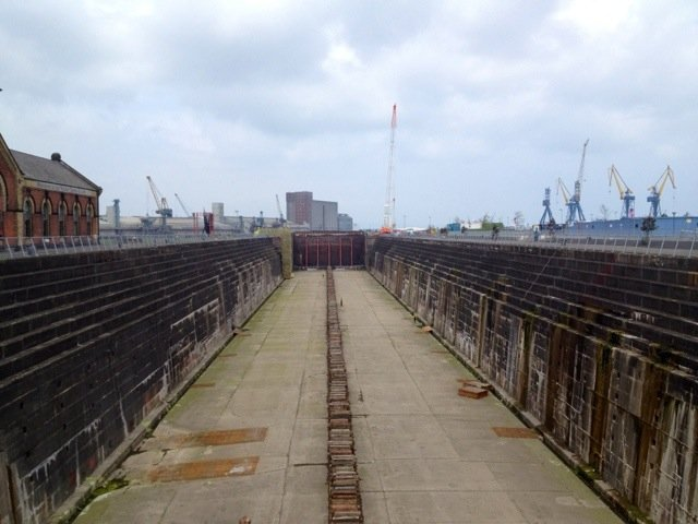 Titanic's Dry Dock.. Huge :) #Belfast #followthetorch