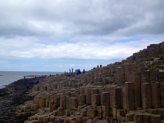 *waves* from Giant's Causeway :) #followthetorch #NorthernIreland