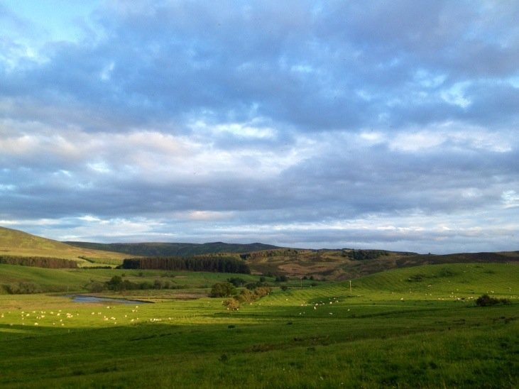Good evening from Northumberland :)