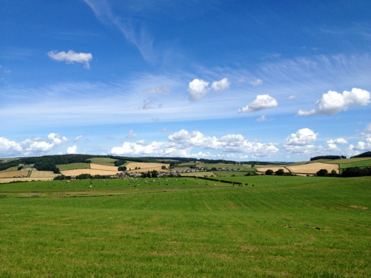 Near Hexham today *waves* Good gosh the sun is out too :D