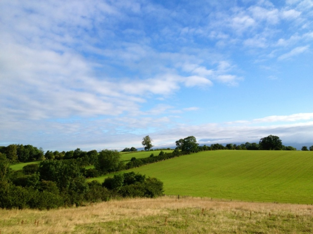 Beautiful start here in The Eden Valley.. Have a great one :D