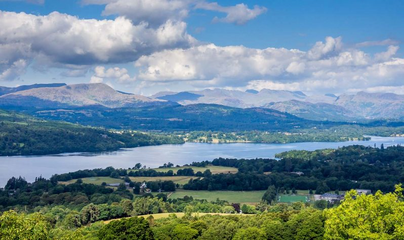 windermere from orrest head