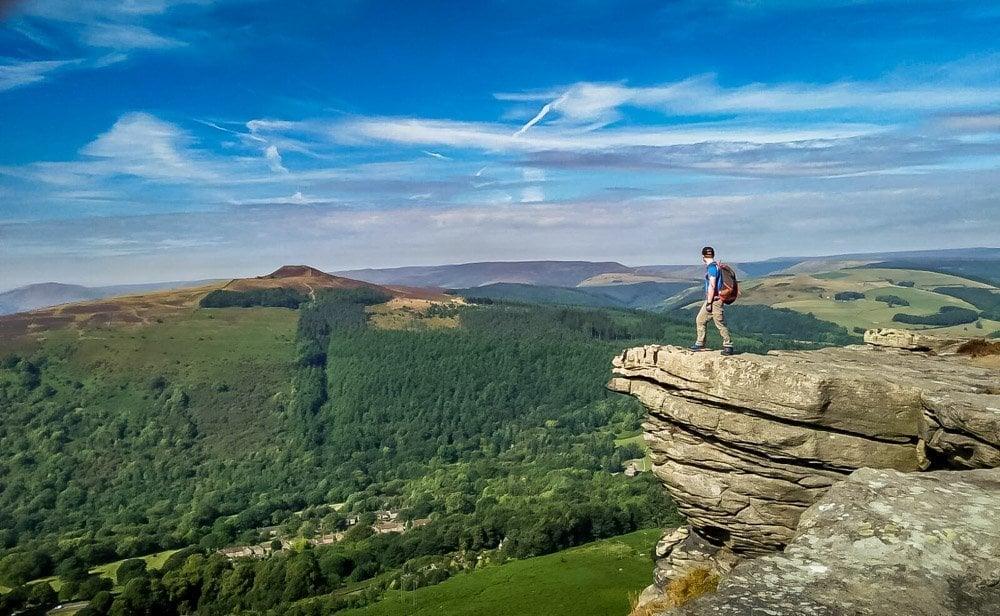 Bamford Edge, Derbyshire