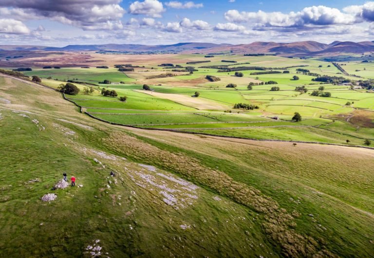 Great Asby Scar, Cumbria – A Walk From Above
