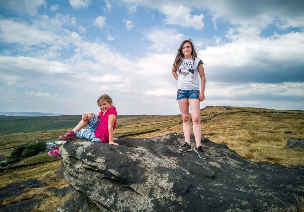 IMG_20180727_144220 A Family Walk Up Standedge - Overlooking Saddleworth