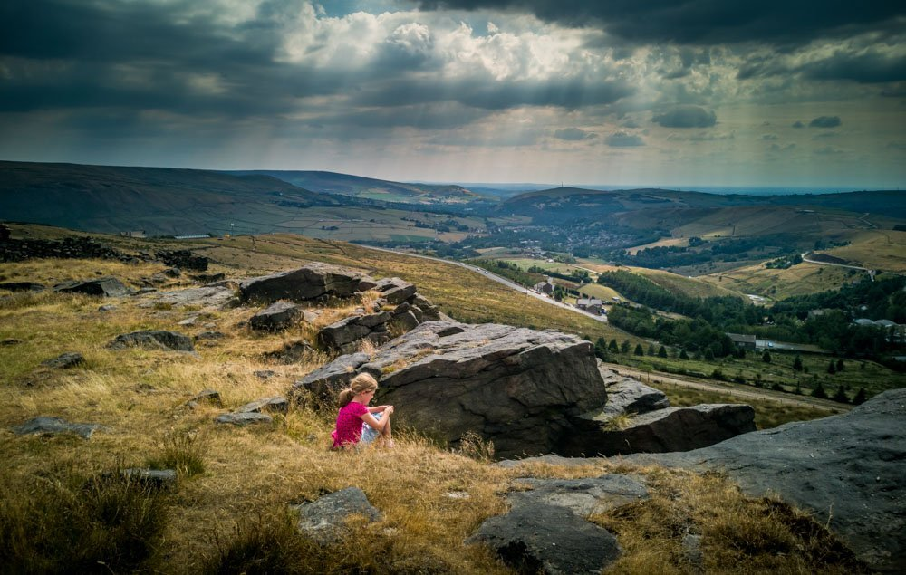 IMG_20180727_150527 A Family Walk Up Standedge - Overlooking Saddleworth