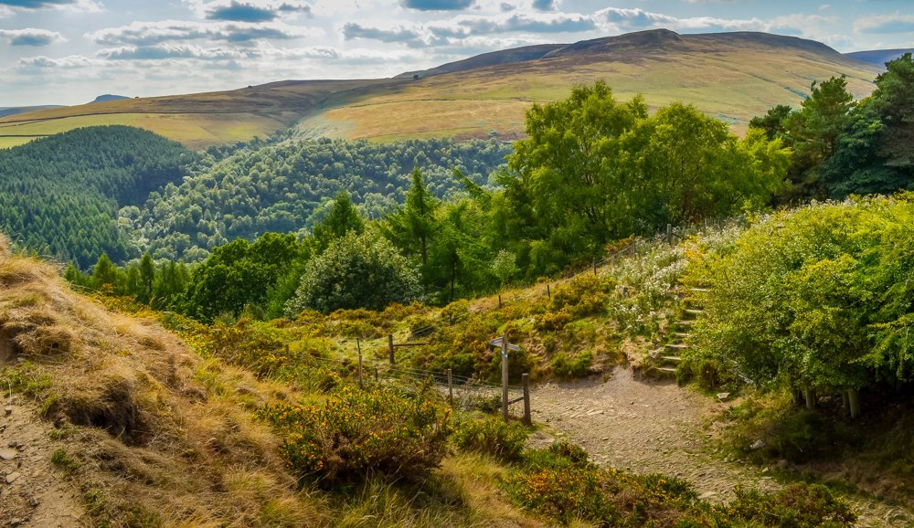 Peak-District Alport Castles Walk – Derbyshire Peak District