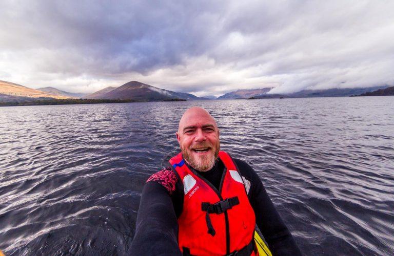 Kayak On Loch Lomond To The Island Of Inchconnachan