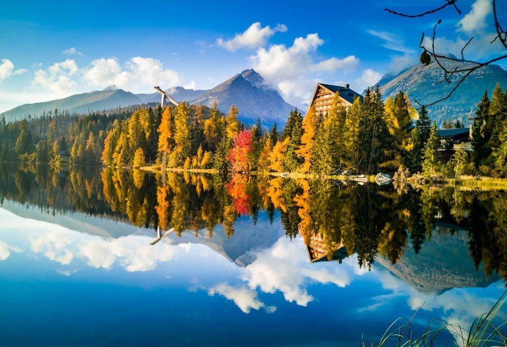 Strbske Pleso - Glacial Lake of The High Tatras, Slovakia