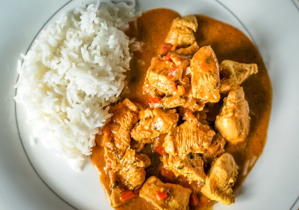 thai curry home made