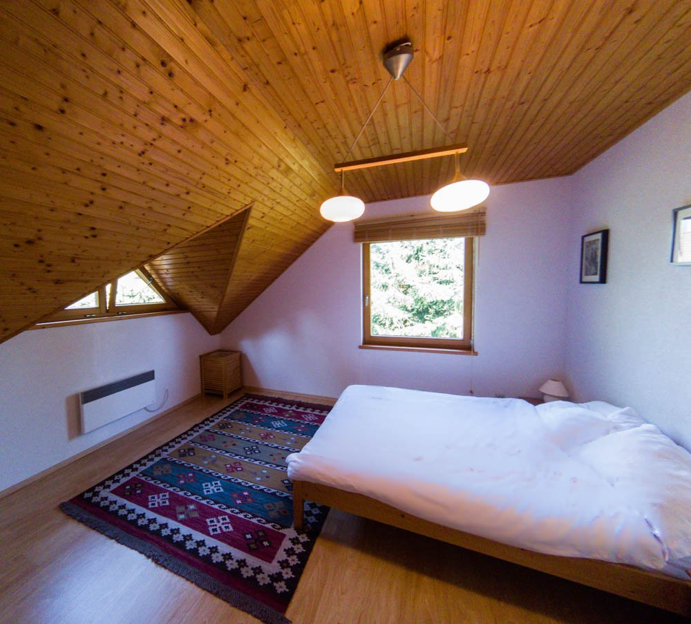 Lodge-bedroom Luxury Lodge In The Tatra Mountains, Slovakia