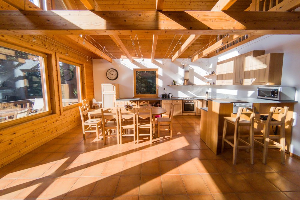 Lodge-open-area-Slovakia Luxury Lodge In The Tatra Mountains, Slovakia