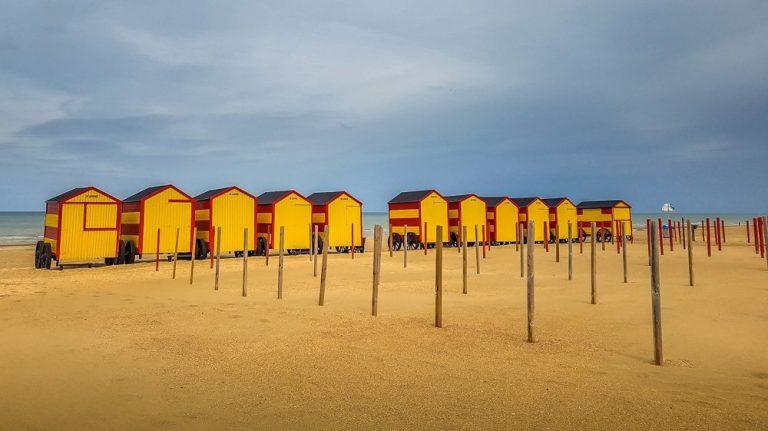 Walking in Belgium – De Panne Beach Sunsets and Horses