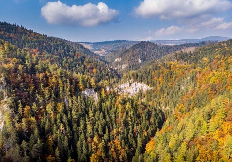 Walk The Kvačianska Valley to The Oblazy Mills, Slovakia