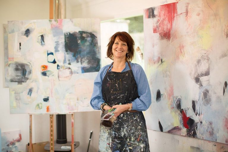 The Expressive and Abstract Art of Maryanne Hawes