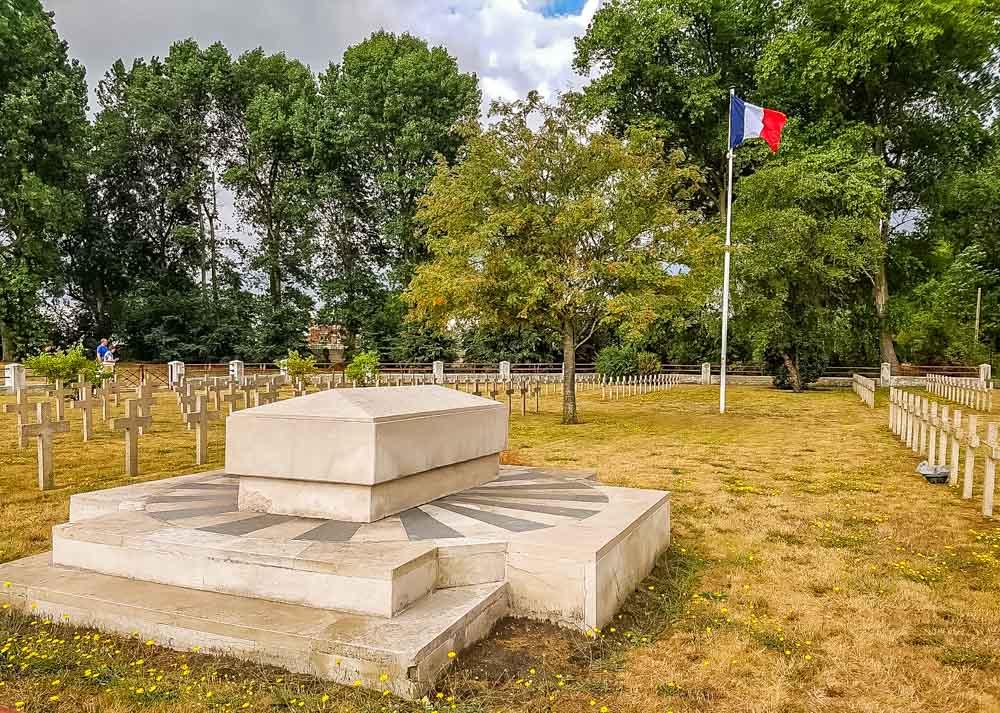 War-Graves Fort Des Dunes - Northern France