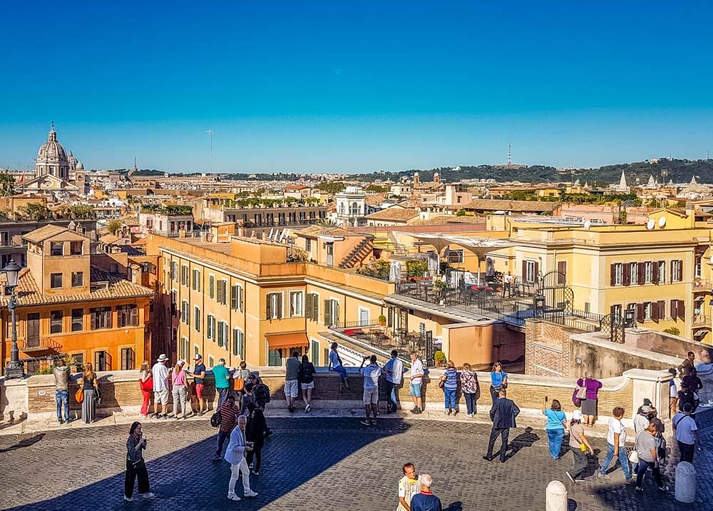 The Spanish Steps, Rome (Scalinata di Trinità dei Monti) 1
