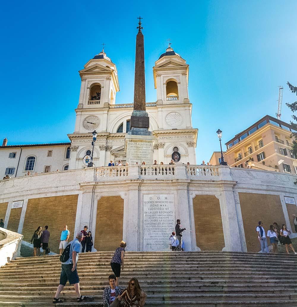 The Spanish Steps, Rome (Scalinata di Trinità dei Monti)
