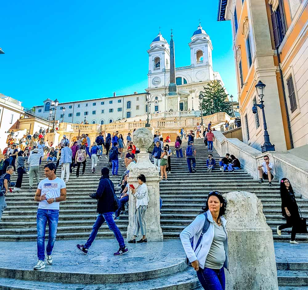 20181003_221839 The Spanish Steps, Rome (Scalinata di Trinità dei Monti)