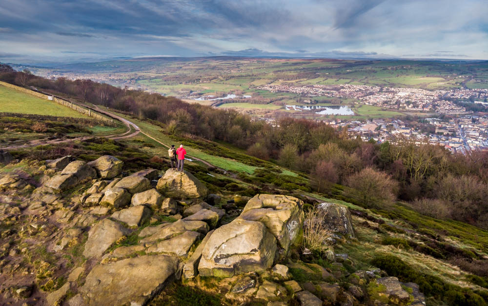 A Walk Over The Chevin Ridge, Otley