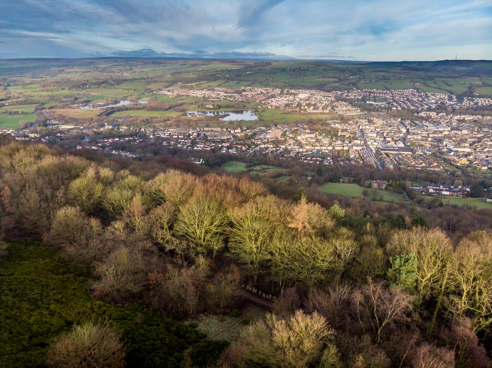 view over otley