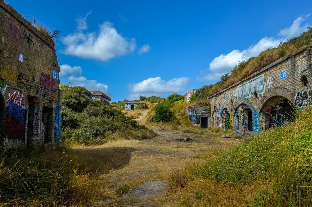 Blockhouses and Graffiti Art of Leffrinckoucke Beach 4