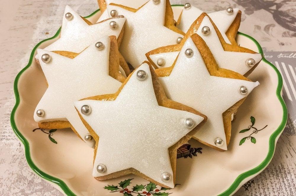 Vanilla Star Biscuits Recipe 1