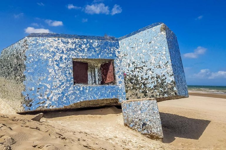 Blockhouses and Graffiti Art of Leffrinckoucke Beach