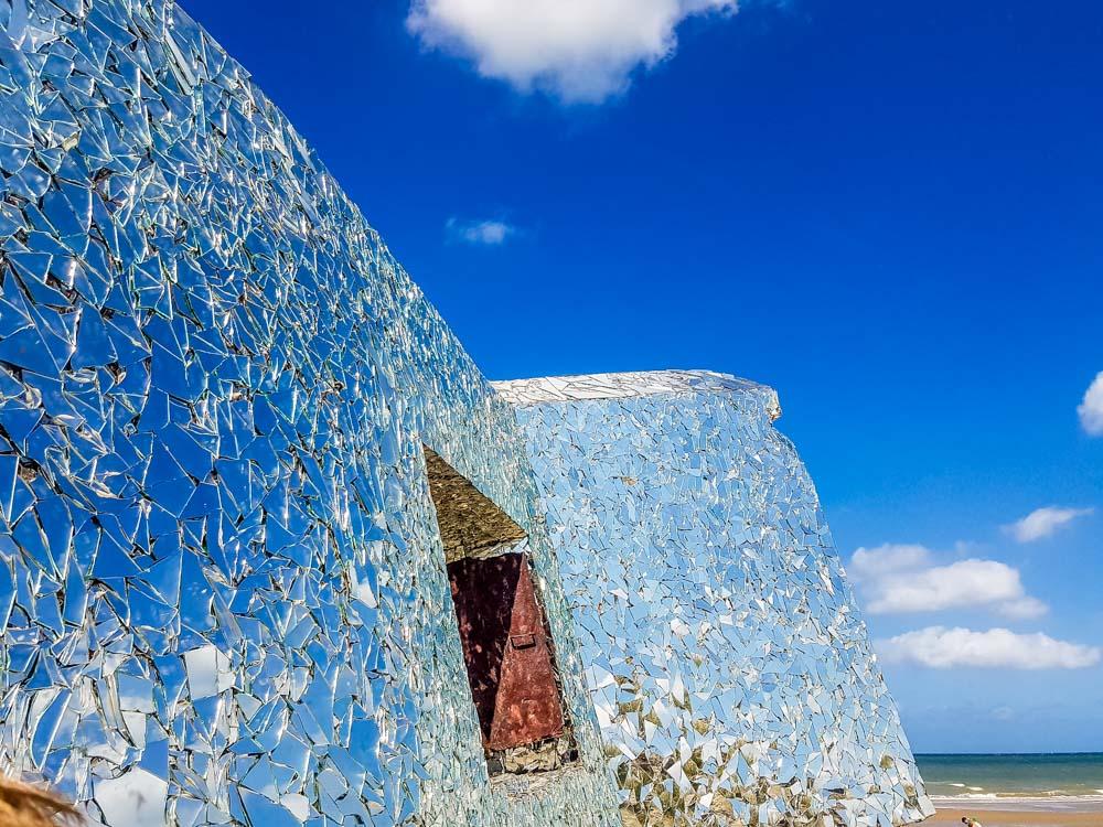 Blockhouses and Graffiti Art of Leffrinckoucke Beach 2