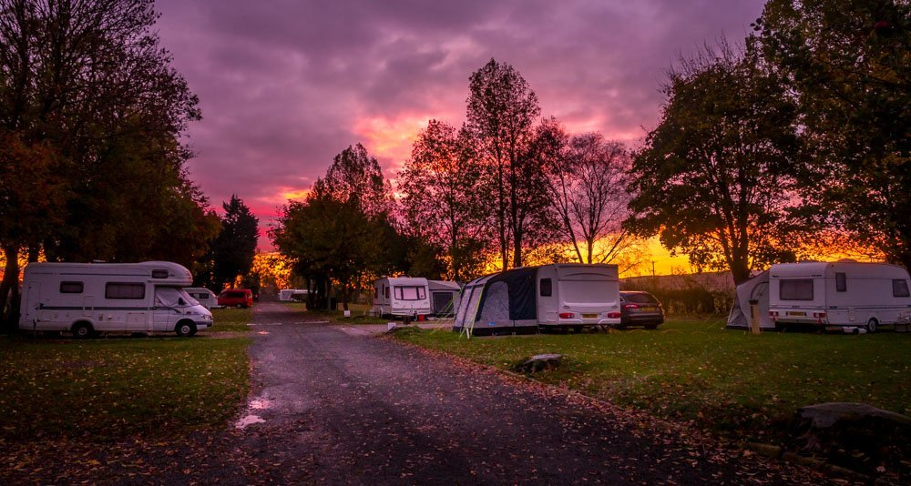A Motorhome Stay At Slingsby Campsite